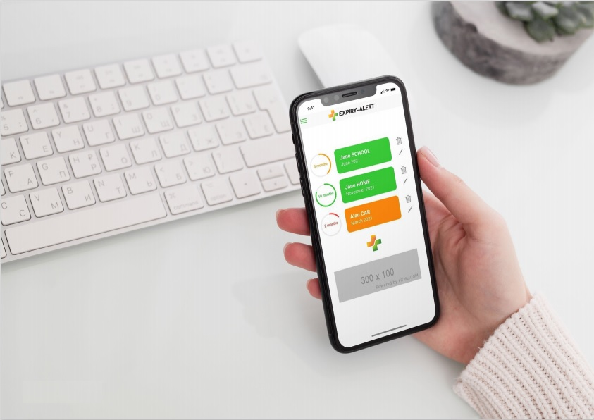 Adrenaline Autoinjector Reminder App for EpiPen and Anapen
